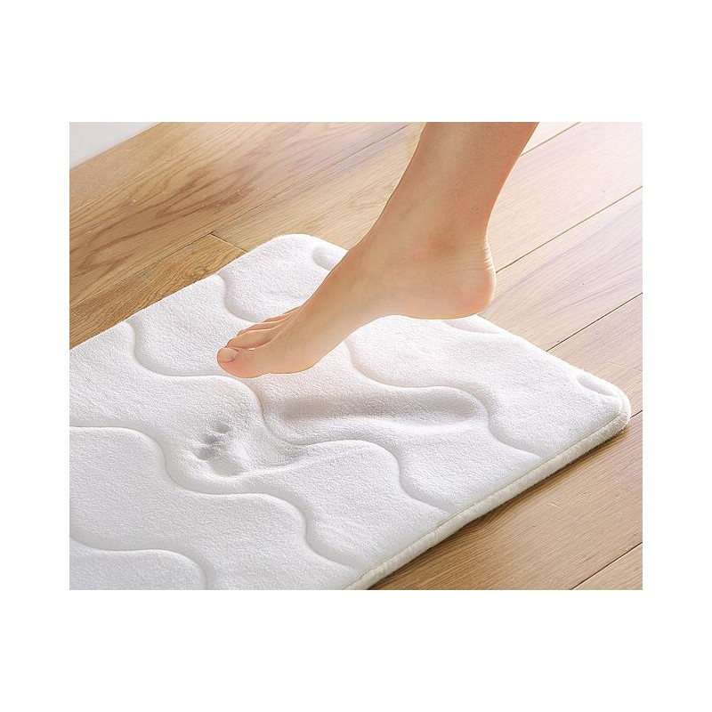 Tapis Sortie De Bain Blanc Medical Ortho