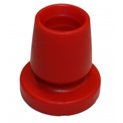 EMBOUT BASE 45 / OPTIFLEX LA PAIRE - ROUGE