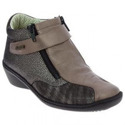 CHAUSSURES BOTTINES SOLEDAD BRONZE