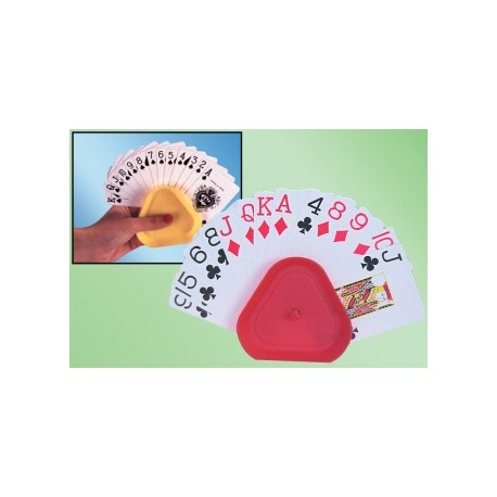 LOT DE 4 SUPPORTS DE CARTES TRIANGULO