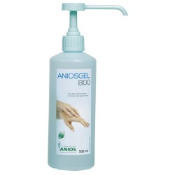 GEL HYDROALCOOLIQUE ANIOSGEL 800 FLACON 500 ML